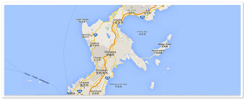 Maps - Us military bases in okinawa map
